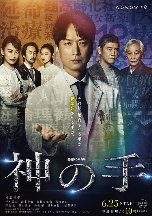 『連続ドラマW 神の手』WOWOW(2019)